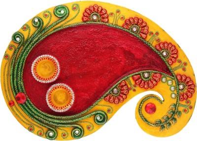 My DT Lifestyle Wooden Pooja & Thali Set