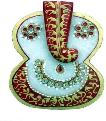 Advance Hotline Handicrafts Handmade Products Marble Pooja & Thali Set(1 Pieces, Multicolor)