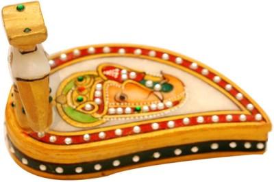 Santacart Marble Pooja & Thali Set