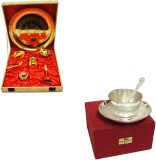 Satyan Pooja Thali With Cup and Tray Set...
