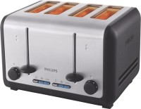 Philips HD2647/20 1800 W Pop Up Toaster(Silver and black)