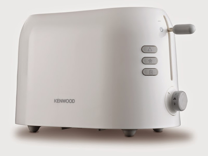 Kenwood KE-TTP200 900 w Pop Up Toaster(White)