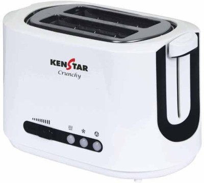 Kenstar KTU02WPP-CXF 700 W Pop Up Toaster(Black and white)