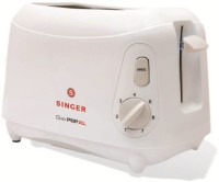 Singer Duo XL 800 W Pop Up Toaster(White)