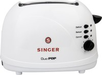 Singer DUO POP 700 W Pop Up Toaster(White, Black)