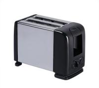 "Wonder World â""¢ MS-06 Megastar 2 Slice Black Popup Toaster- MS-06 650 W Pop Up Toaster(Black)"