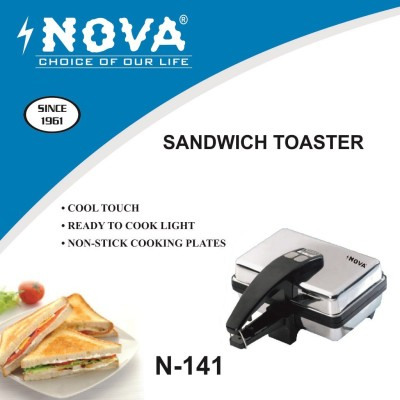 Nova N141 500 Pop Up Toaster