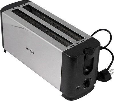 United T-802A 1300 W Pop Up Toaster