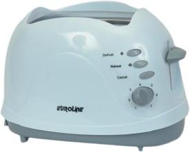 Euroline EU810P 2 Slice 550W Pop Up Toaster