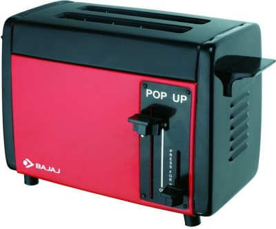 Bajaj Bajaj Pop-up Red 750 W Pop Up Toaster