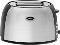 Oster TSSTJC5BBK-049 800 W Pop Up Toaster(Silver and black)