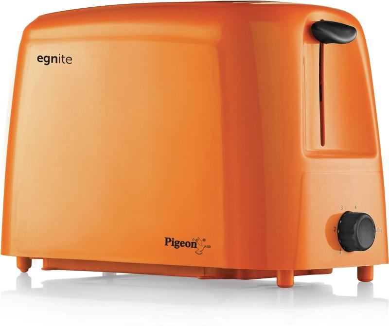 Pigeon 12054 750 W Pop Up Toaster(Orange)