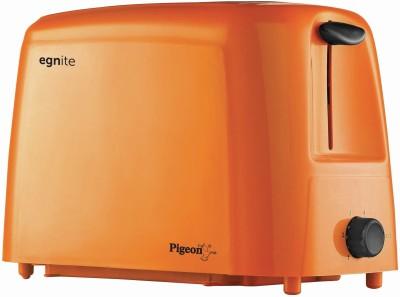 Pigeon Egnite PT-01 750 W Pop Up Toaster(Orange)