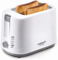 Eveready PT102 750 W Pop Up Toaster(White ,Grey)