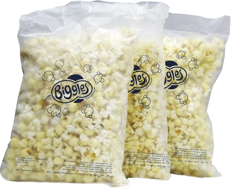 Biggles Chilli Lime Bulk Pack Popcorn(990 g Pack of 3)