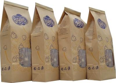 Biggles Caramel Large Pack Popcorn(800 g Pack of 4)