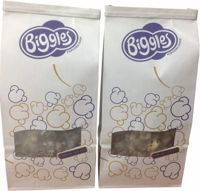 Biggles Dark and White Chocolate Medium Pack Popcorn(300 g Pack of 2)