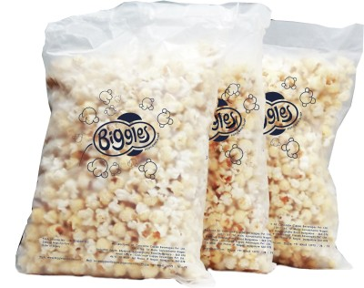 Biggles Cheddar Cheese Bulk Pack Popcorn(990 g Pack of 3)