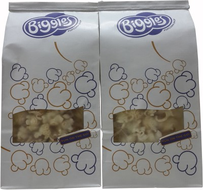 Biggles Chilli Lime Medium Pack Popcorn(110 g Pack of 2)