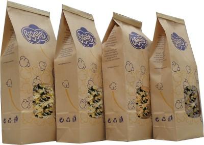 Biggles Dark and White Chocolate Large Pack Popcorn(800 g Pack of 4)