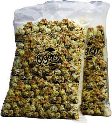 Biggles Dark and White Chocolate Bulk Pack Popcorn(2 kg Pack of 2)