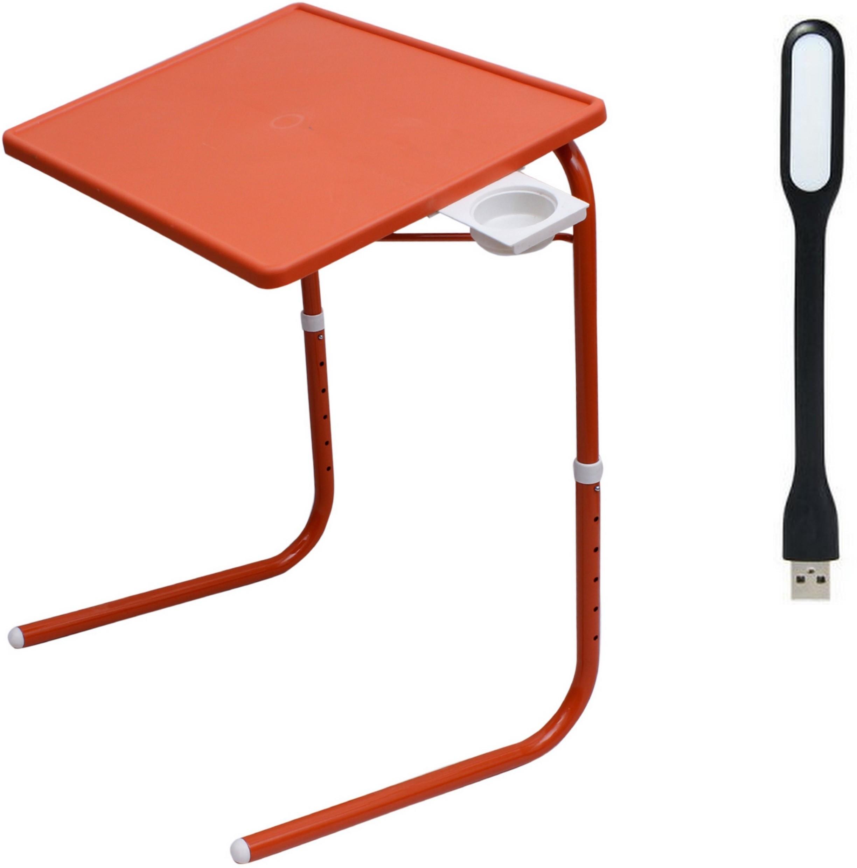 View RVOLD Orange Plastic Portable Laptop Table(Finish Color - Orange) Furniture (RVOLD)