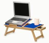 Teeta Engineered Wood Portable Laptop Ta...