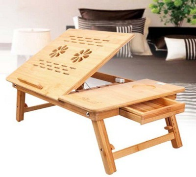 Elite Mkt Solid Wood Portable Laptop Table