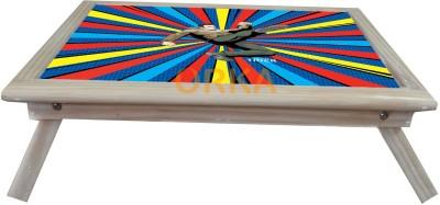 ORKA Ek Tha Tiger Solid Wood Portable Laptop Table(Finish Color - MultiColor)