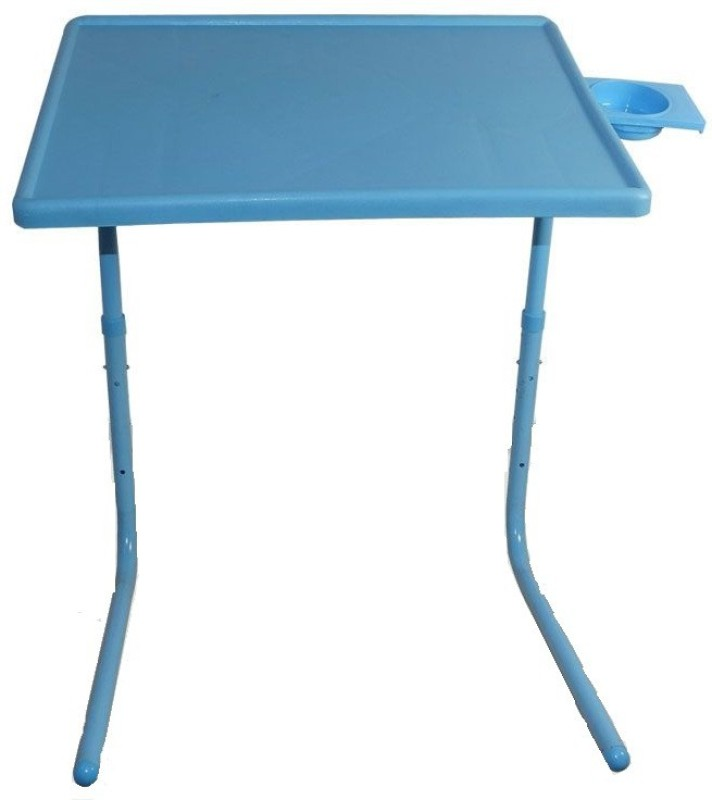 Table Mate II Adjustable Portable Folding Study Laptop Mate With Cup Holder Blue Changing Table