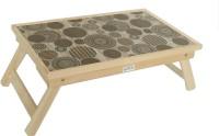 Ekta Product Solid Wood Portable Laptop Table(Finish Color - Beige::Brown)