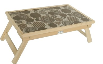 Ekta Product Solid Wood Portable Laptop Table
