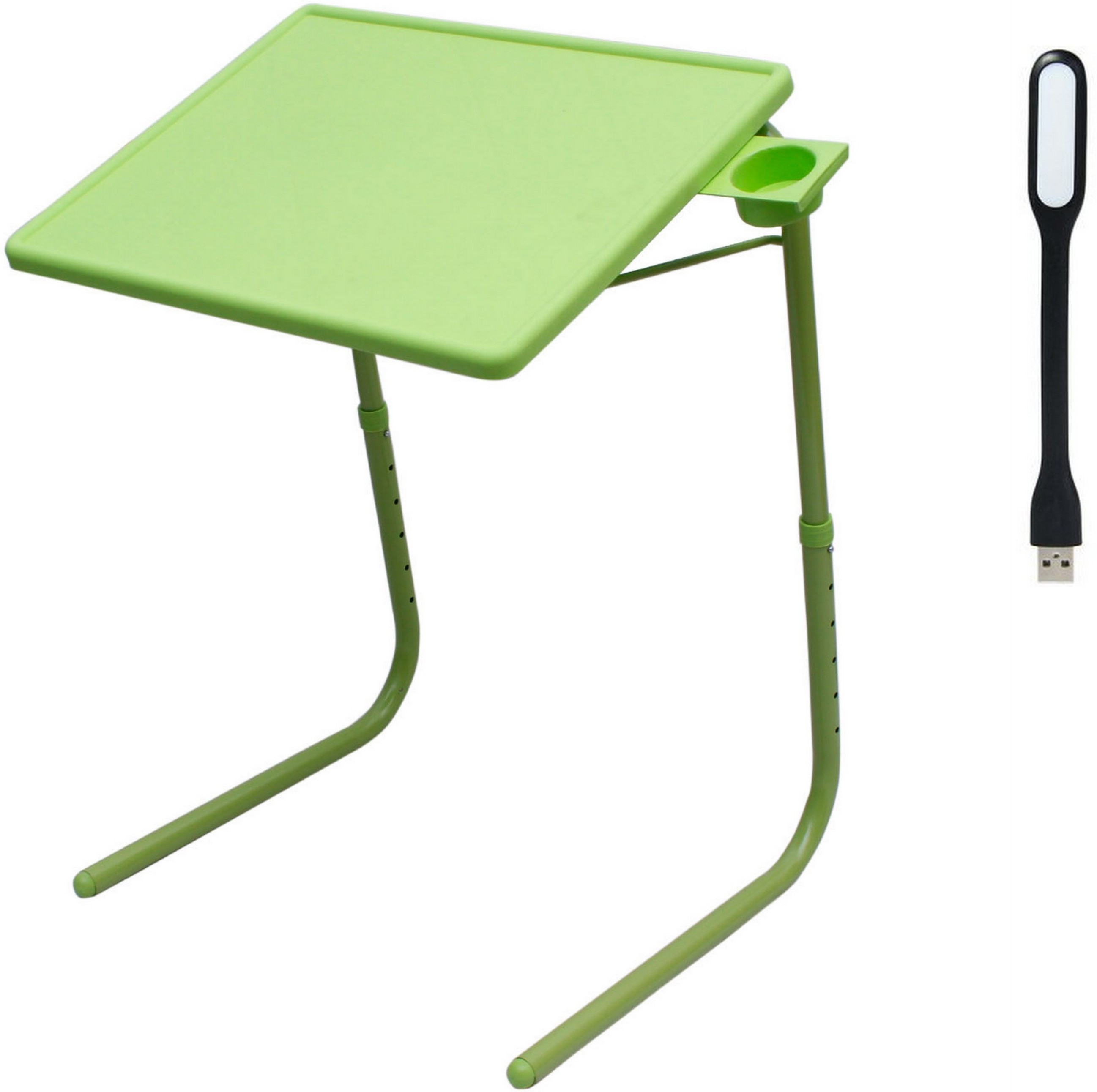 View NA Green Plastic Portable Laptop Table(Finish Color - Green) Furniture (NA)