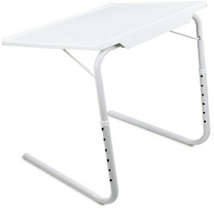 View Frazzer Plastic Portable Laptop Table(Finish Color - White) Furniture (Frazzer)