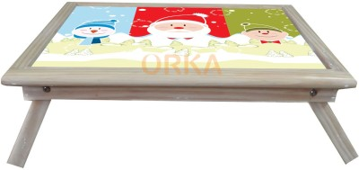 ORKA Santa Claus Solid Wood Portable Laptop Table