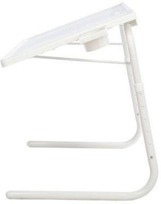 Taino Plastic Portable Laptop Table(Finish Color - Off White)