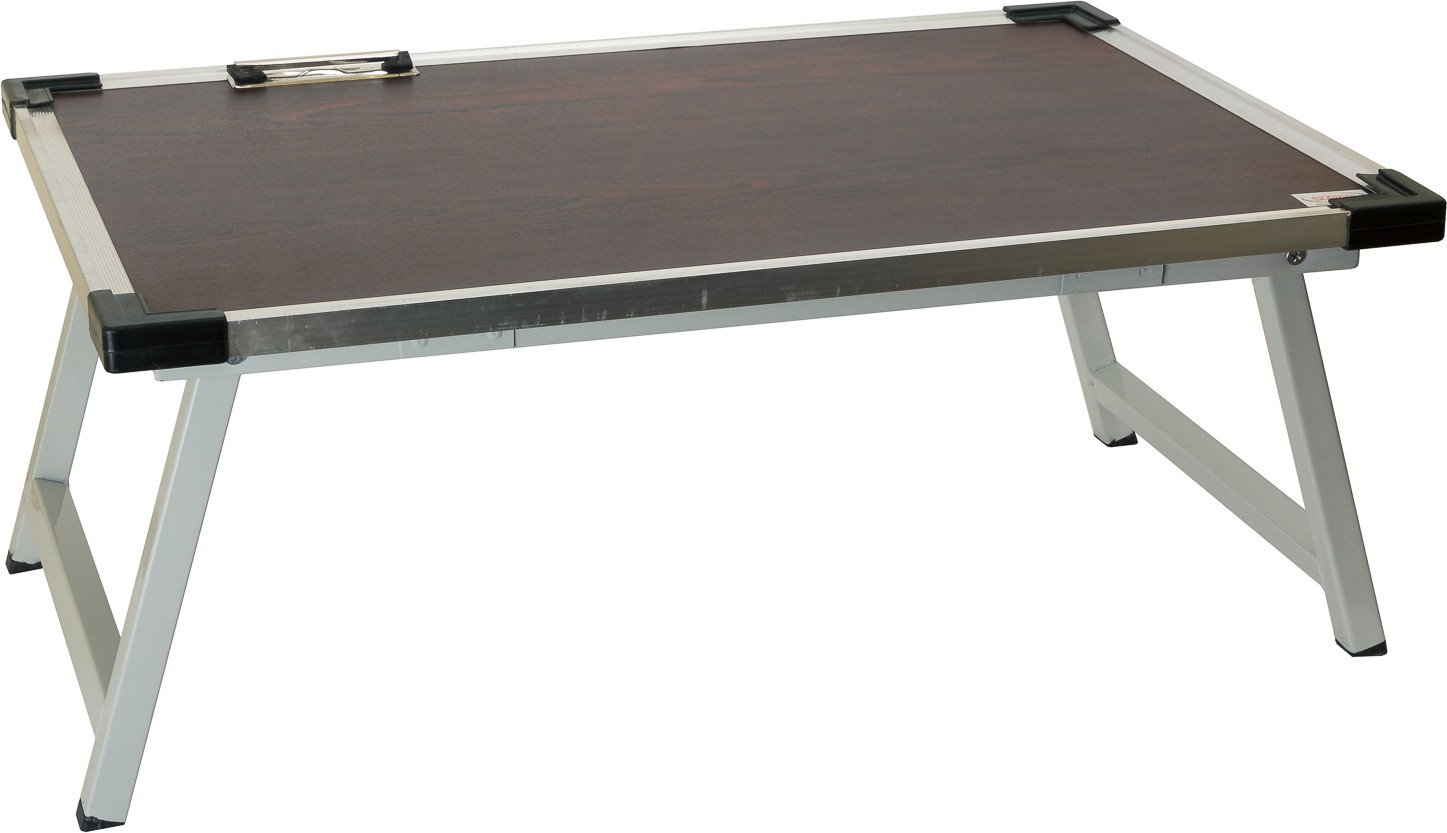 View SuTable Engineered Wood Portable Laptop Table(Finish Color - Rosewood) Furniture (SuTable)