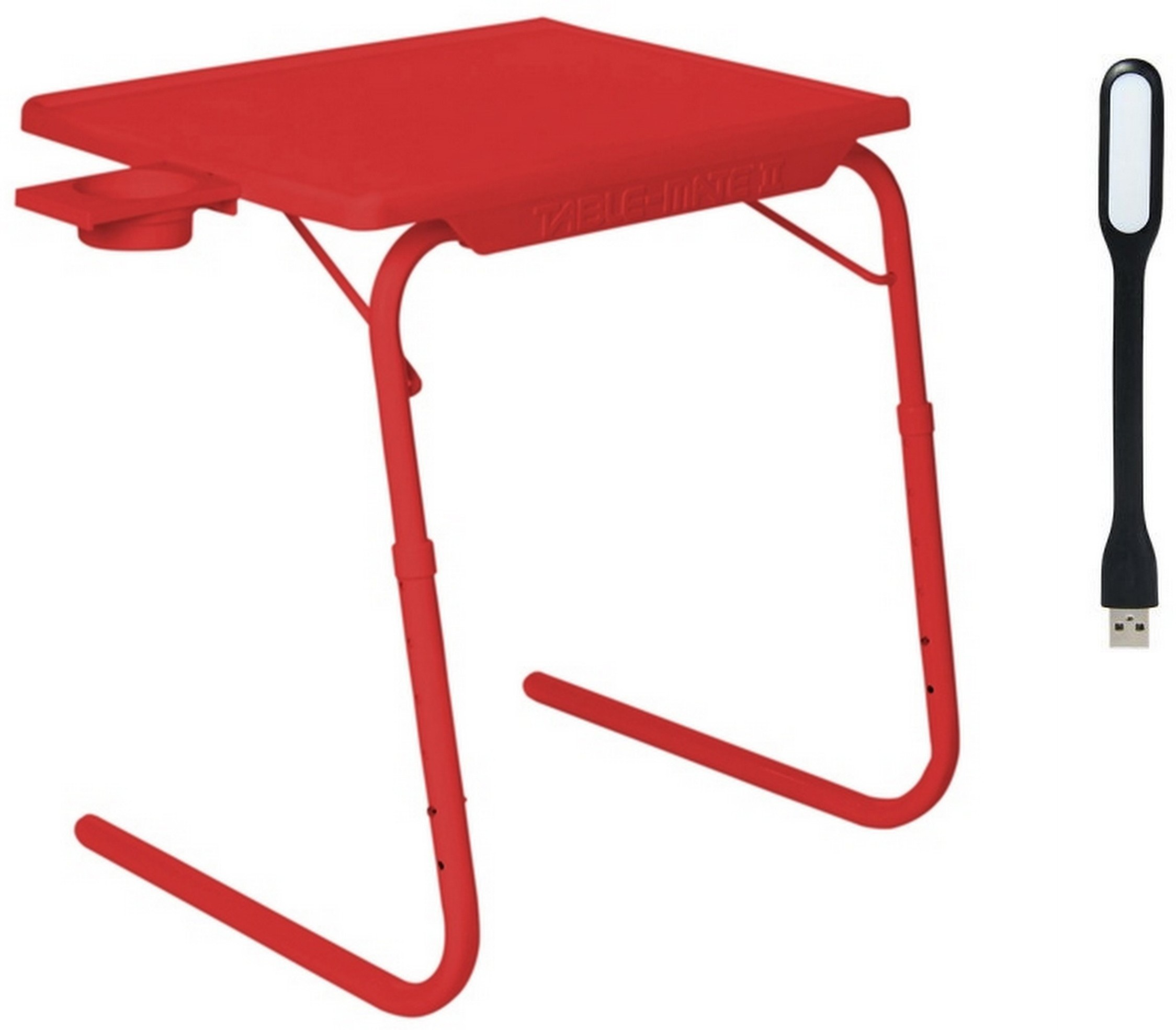 View NA Red Plastic Portable Laptop Table(Finish Color - Red) Furniture (NA)