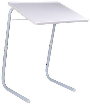 TABLE MATE ADJUSTABLE FOLDING KIDS MATE HOME OFFICE READING WRITING WHITE NORMAL TABLEMATE Plastic Portable Laptop Table