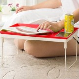 Kawachi Metal Portable Laptop Table (Fin...