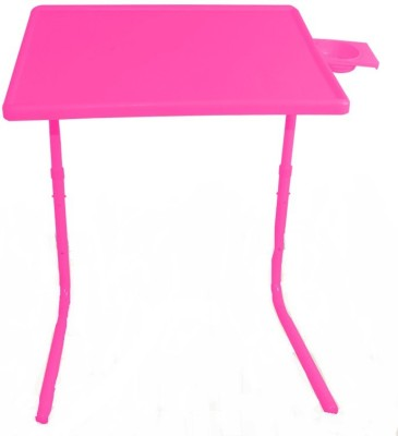 Table Mate PINK ADJUSTABLE PORTABLE LAPTOP Study Tablemate Plastic Study Table(Finish Color - Pink)