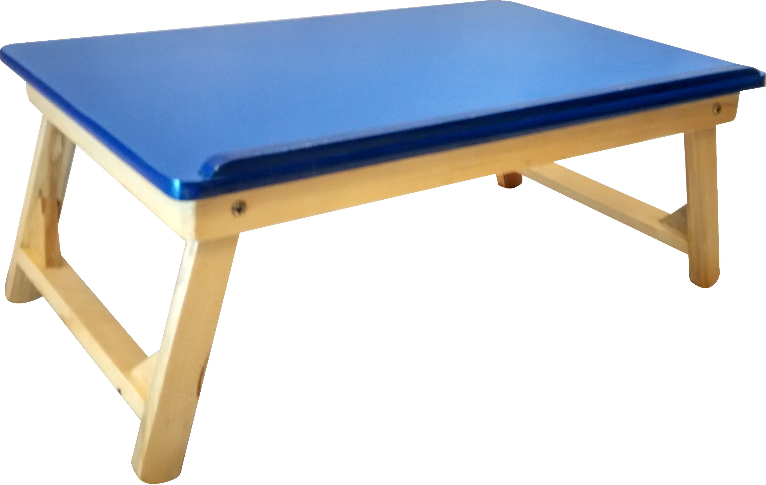 View CSM Engineered Wood Side Table(Finish Color - Blue) Furniture (CSM)