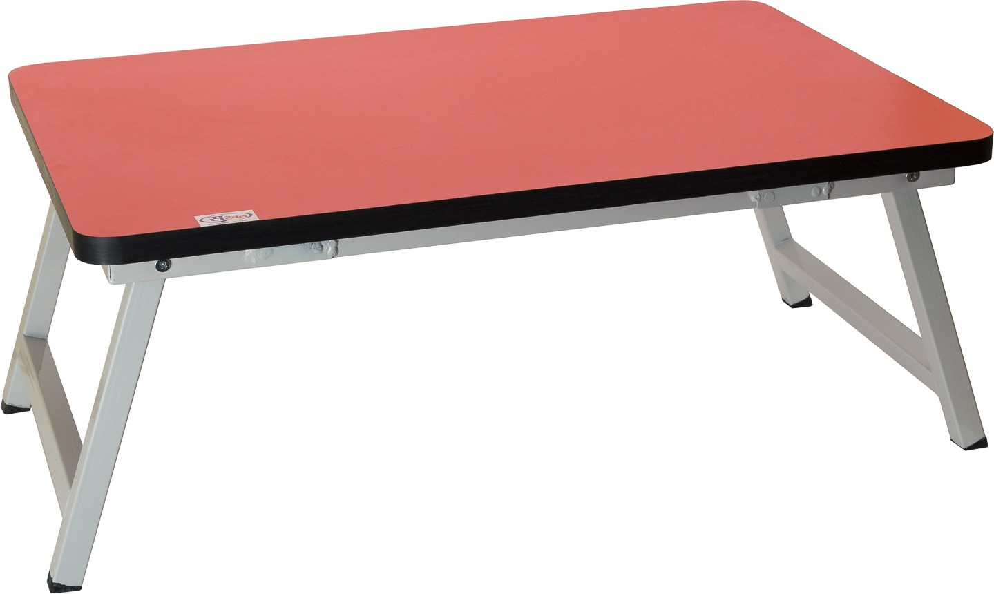 View SuTable Engineered Wood Portable Laptop Table(Finish Color - Red) Furniture (SuTable)