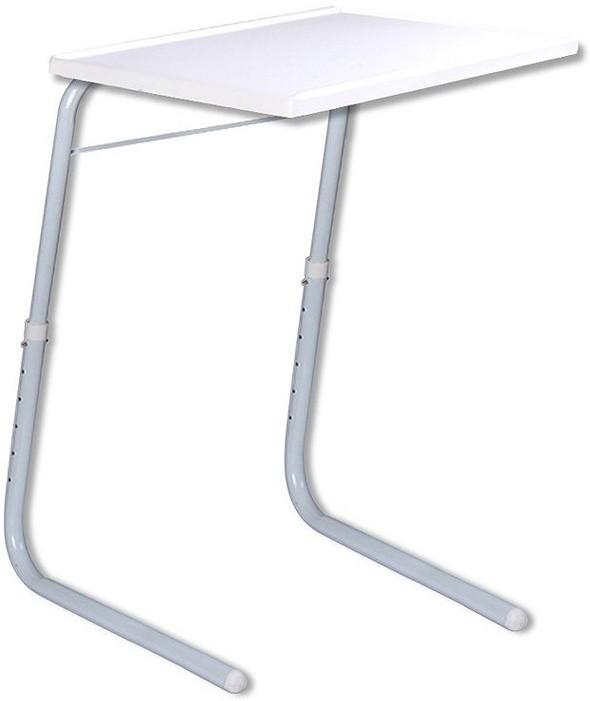 View Shopimoz Plastic Portable Laptop Table(Finish Color - White) Furniture (Shopimoz)