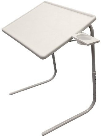 View Inventure Retail Plastic Portable Laptop Table(Finish Color - White) Furniture (Inventure Retail)