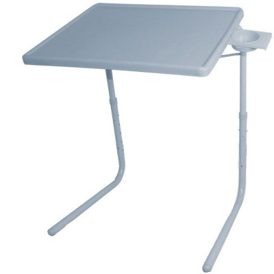 IBS ADJUSTABLE FOLDING KIDS MATE HOME OFFICE READING WRITING GREY STUDY TABLEMATE WITH CUPHOLDER Plastic Portable Laptop Table