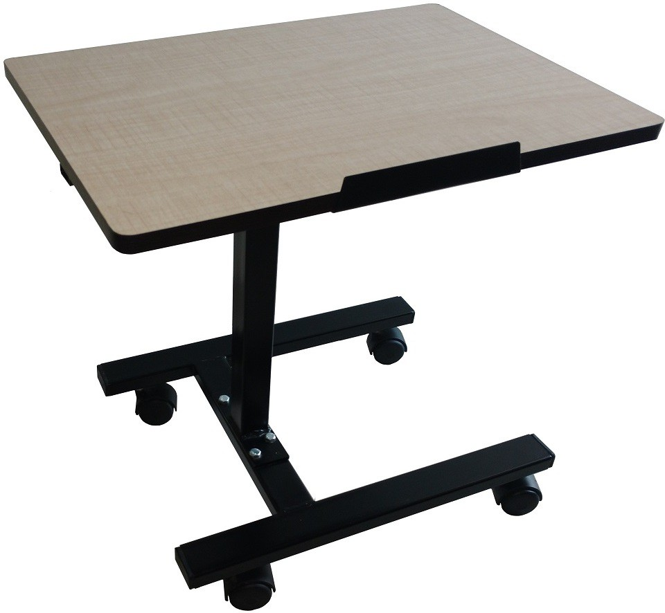View Smart Shelter SSLP99 Metal Portable Laptop Table(Finish Color - Light Brown) Furniture (Smart Shelter)