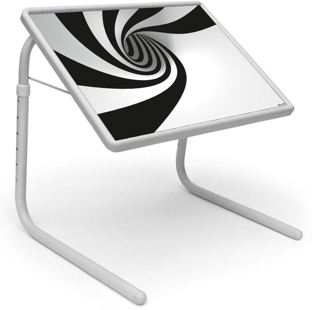 View Shopper 52 Plastic Portable Laptop Table(Finish Color - Black) Furniture (Shopper52)