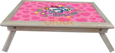 ORKA Powerpuff Girls Solid Wood Portable Laptop Table