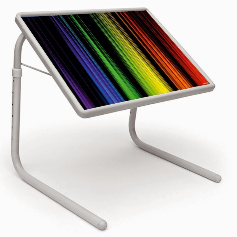 Shopper 52 Plastic Portable Laptop Table(Finish Color - Multicolor)